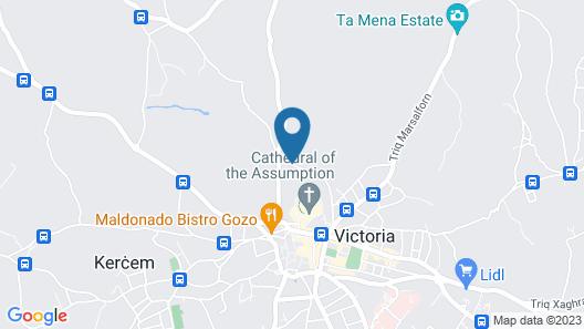 Gozo Inn Map