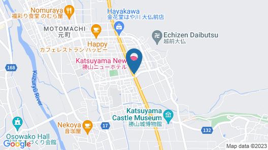 Katsuyama New Hotel Map