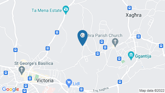 Bellavista Farmhouses Gozo Map