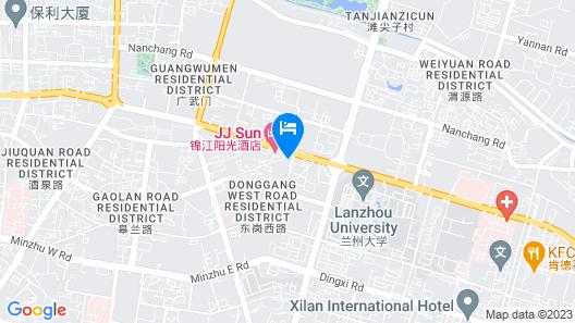 Wyndham LanZhou HaiYue Map