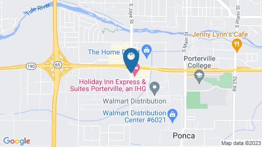 Holiday Inn Ex Ste Porterville, an IHG Hotel Map