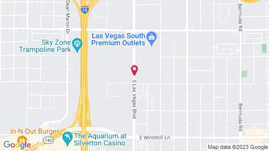 Residence Inn Las Vegas Airport Map