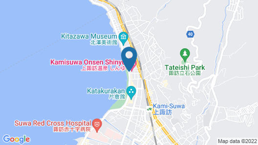 Kamisuwa Onsen Hotel Shinyu Map