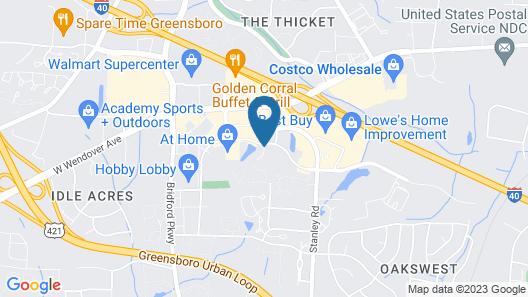 Wingate by Wyndham - Greensboro Map