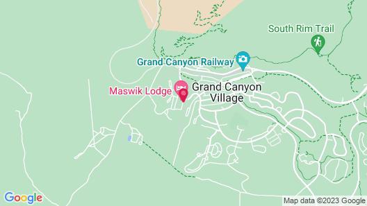 Maswik Lodge - Inside the Park Map