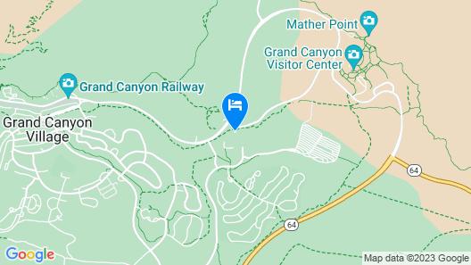 Yavapai Lodge - Inside the Park Map