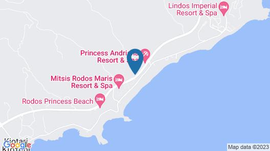 Mitsis Rodos Village Beach Hotel & Spa - All Inclusive Map
