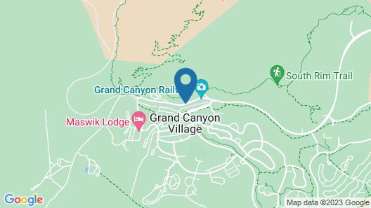 Kachina Lodge - Inside the Park Map
