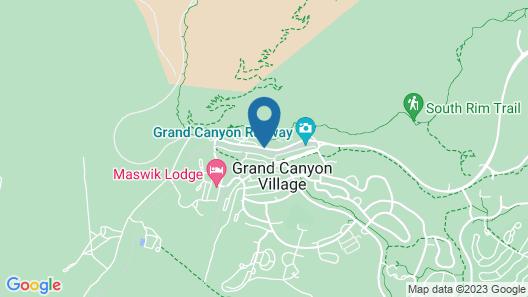 Thunderbird Lodge - Inside the Park Map
