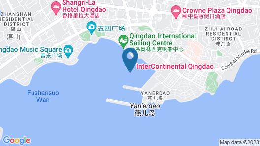 InterContinental Qingdao, an IHG Hotel Map