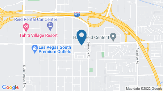 TownePlace Suites by Marriott Las Vegas Airport South Map
