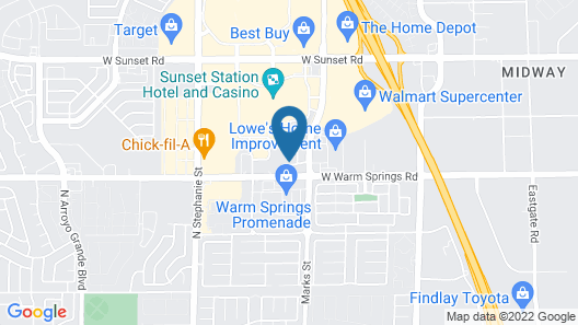 Holiday Inn Express Hotel & Suites Henderson, an IHG Hotel Map
