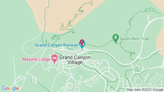 El Tovar - Inside the Park Map