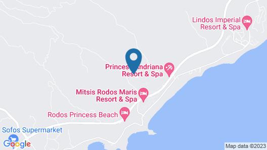 Princess Sun Hotel - All Inclusive Map