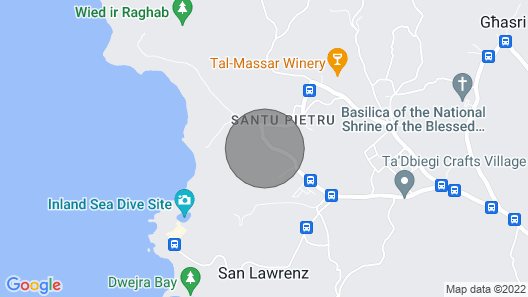 The Almonds Holiday Home Map