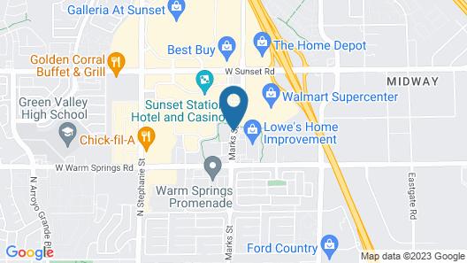 Comfort Inn & Suites Henderson - Las Vegas Map
