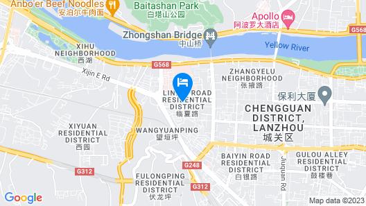 Elan Hotel Map