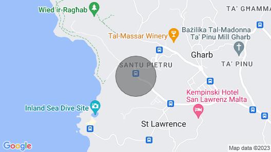 Santu Pietru Villa, Sleeps 5 with Pool Map