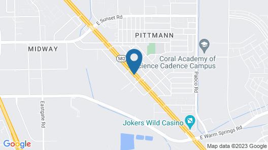 Best Western Plus Henderson Hotel Map