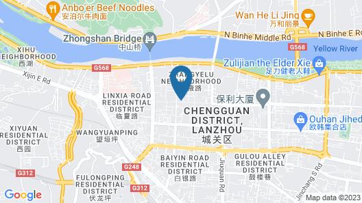 Ibis Hotel Lanzhou Zhangye Road Map
