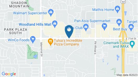 Baymont by Wyndham Tulsa Map