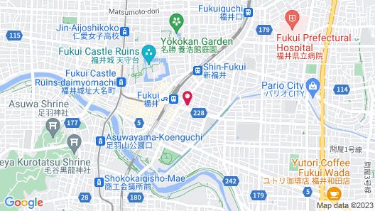 CENTURION HOTEL VILLA SUITE FUKUI Map
