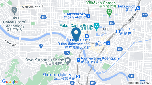 Hotel Riverge Akebono Map