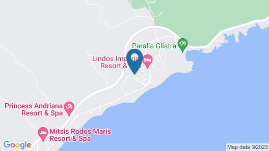 LABRANDA Kiotari Miraluna Resort Map
