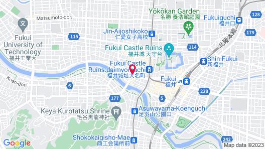 AZ Inn Fukui Map