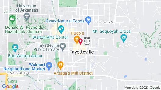Graduate Fayetteville Map