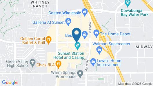Sunset Station Hotel & Casino Map