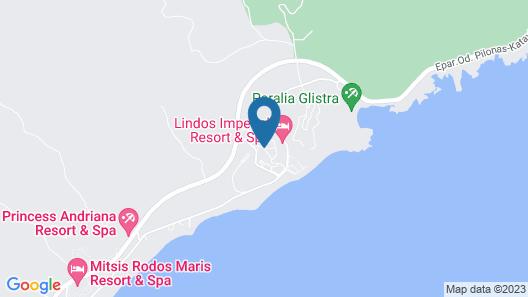 Labranda Miraluna Village  Map