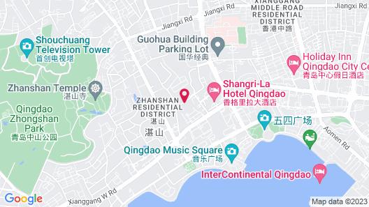 Shangri-La Qingdao Map