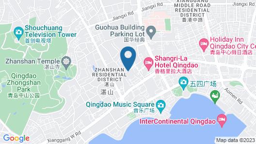 Shangri-La Hotel, Qingdao Map