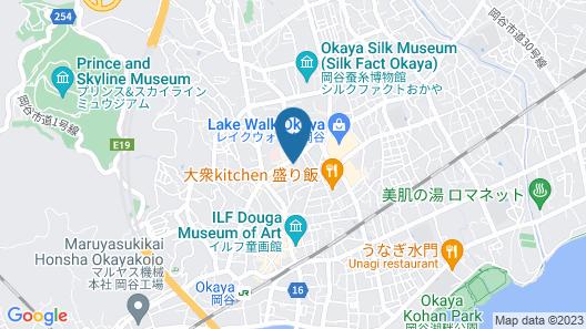 Hotel Okuni Royal INN Group Map