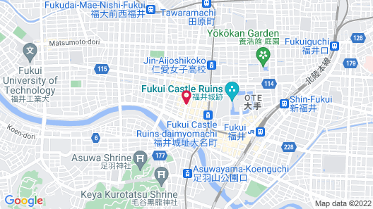 APA Hotel Fukui-Katamachi Map