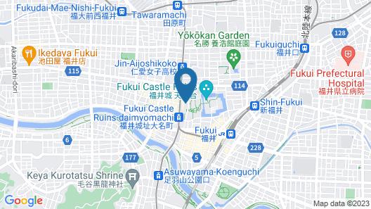Hotel Fujita Fukui Map