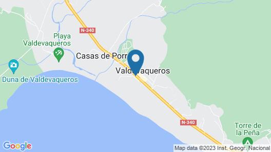 Copacabana Beach Tarifa Map
