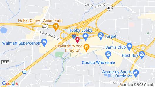 Residence Inn by Marriott Winston-Salem Hanes Mall Map