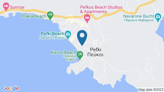 Lindia Thalassa Resort Map