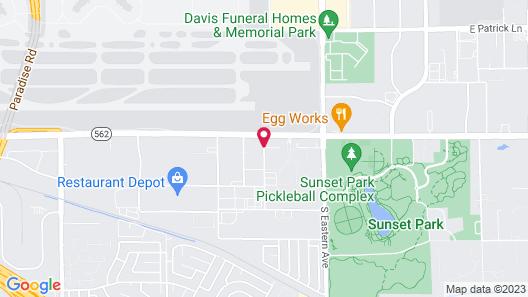 La Quinta Inn & Suites by Wyndham Las Vegas Airport South Map