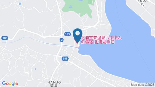 Kitaura Hourai Hot Spring Tsururun-no-yado Kitaurakohansou Map