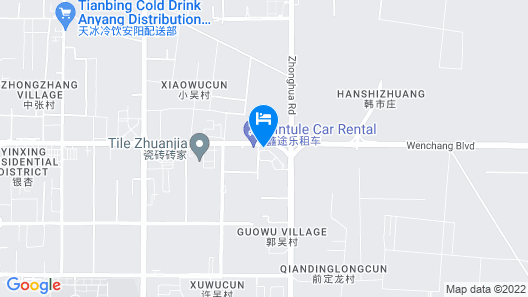 Mercure Anyang Downtown Map