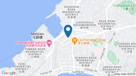 Qingdao Wheat Youth Hostel Map