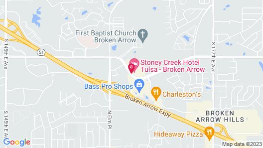 Stoney Creek Hotel Tulsa - Broken Arrow Map