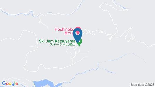 Hotel Harvest Skijam Katsuyama Map