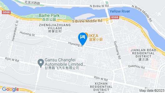 Lan Zhou Long Shang Purple Tulip Map