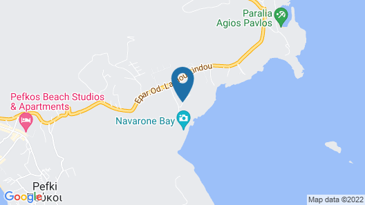 Aquagrand Exclusive Deluxe Resort Lindos - Adult only Map