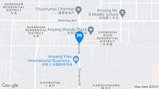 Wanda Realm Anyang Map