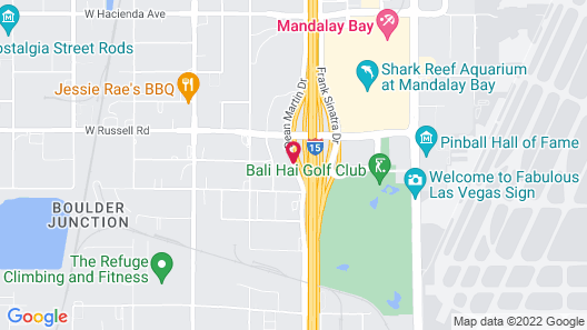 Courtyard by Marriott Las Vegas South Map